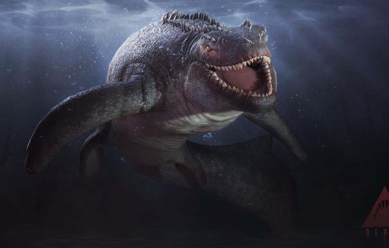 Photo wallpaper teeth, Depth, Shark, reptile, white shark, Skin, reptile, teeth, Great white shark, Lizard-like, Depth, Saurian, …