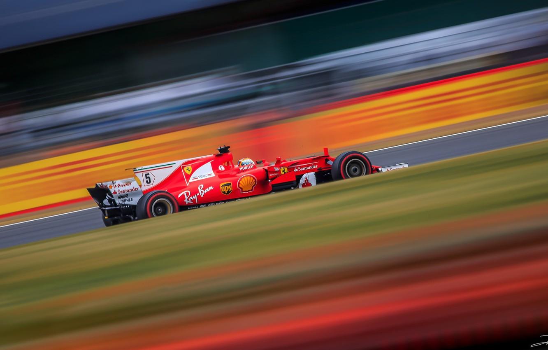 Wallpaper Ferrari Sebastian Vettel Silverstone F1 British Grand Prix 2017 Images For Desktop Section Sport Download