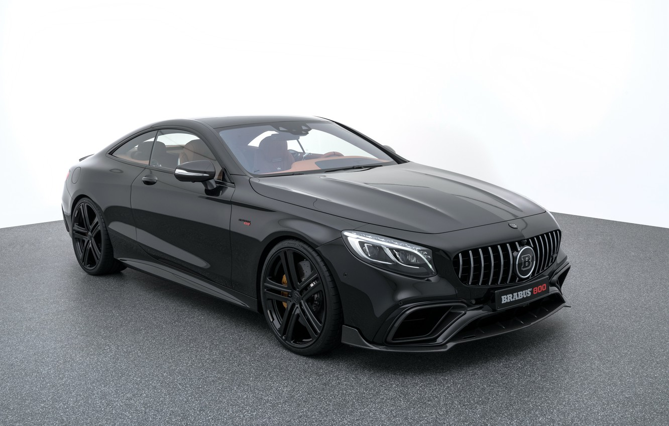Photo wallpaper coupe, Mercedes, Mercedes, AMG, brabus, Coupe, S-Class, C217