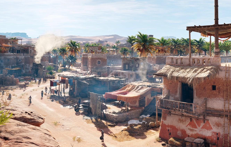 Photo wallpaper Settlement, Egypt, Assassin's Creed Origins