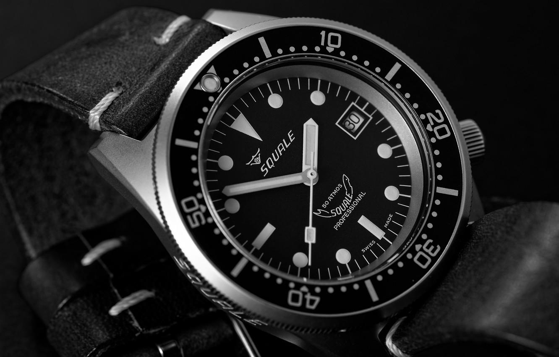 Photo wallpaper time, arrows, watch, dial, black, wrist
