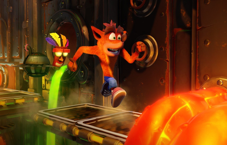 Wallpaper Game Crash Bandicoot N Sane Trilogy Crash Bandicoot