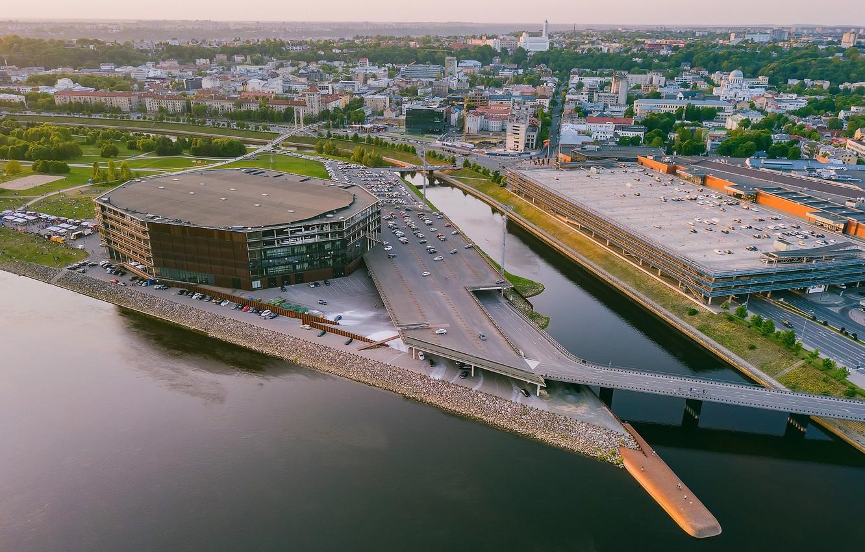 Photo wallpaper Lithuania, Kaunas, Zalgiris Arena
