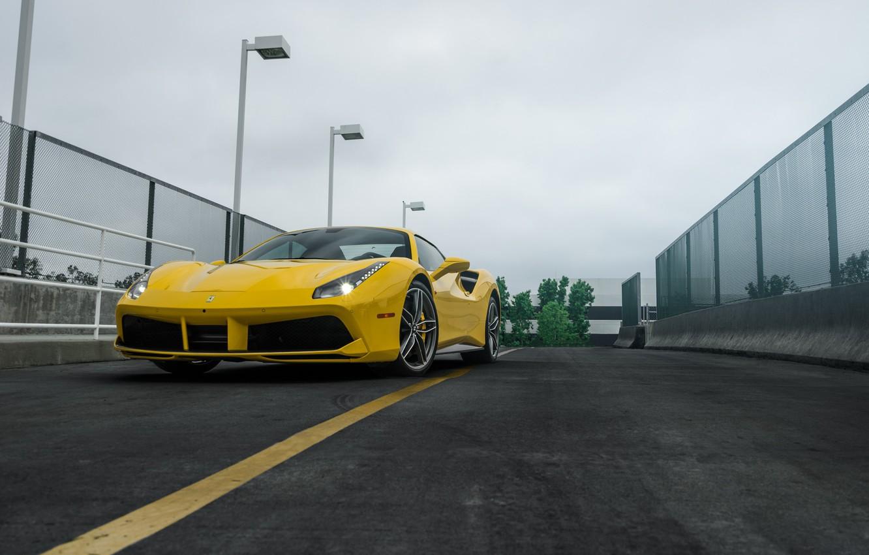Photo wallpaper Ferrari, Package, Performance, 488, Boden