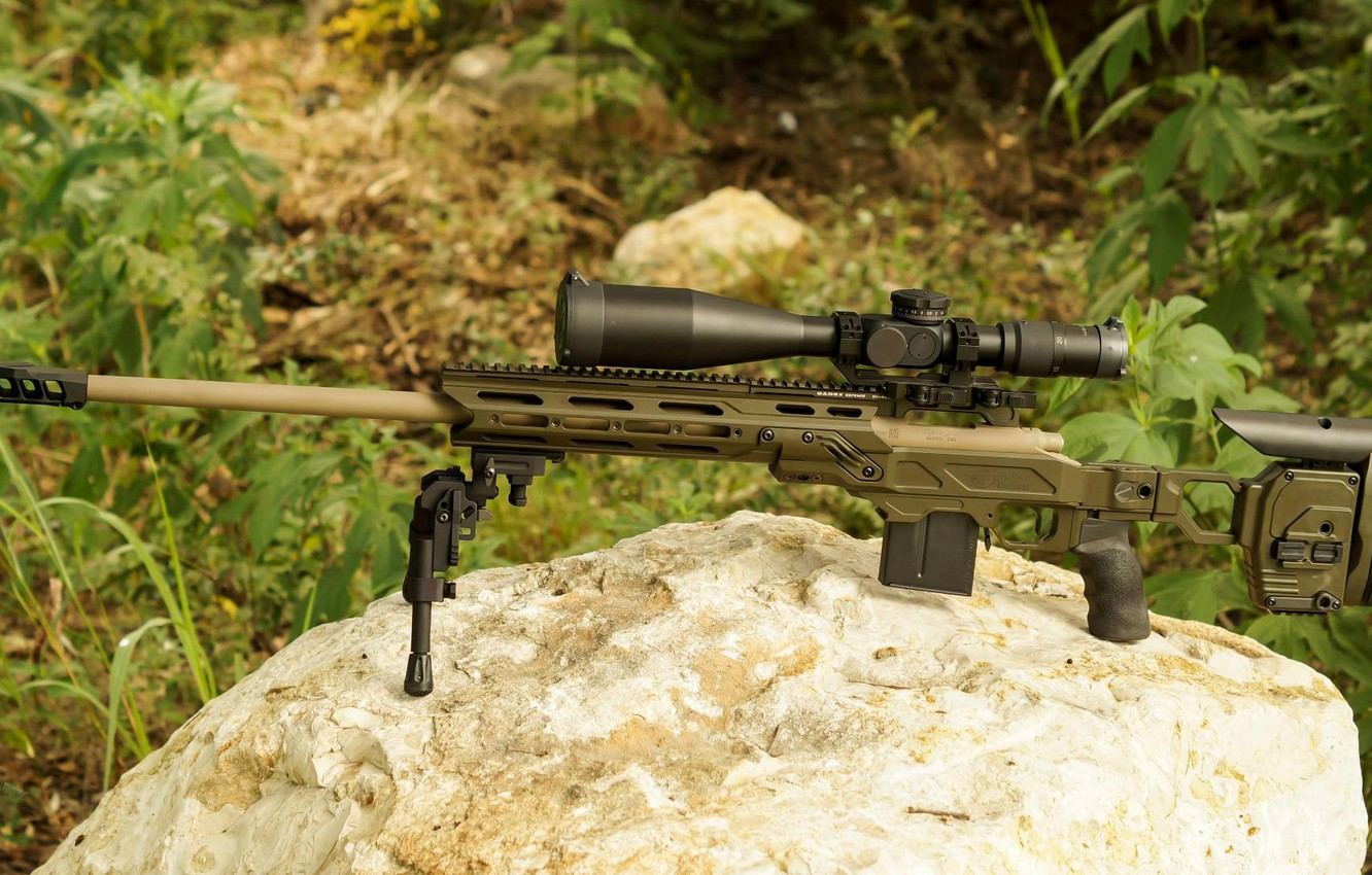 Photo wallpaper weapons, weapon, sniper rifle, Remington MSR, snayperskaya rifle, Remington MSR