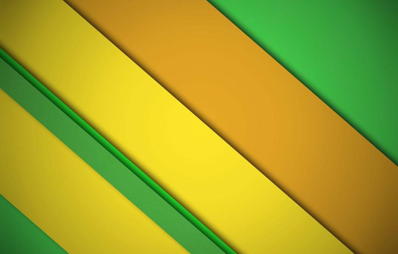 Wallpaper Orange Yellow Green Design Lines Background