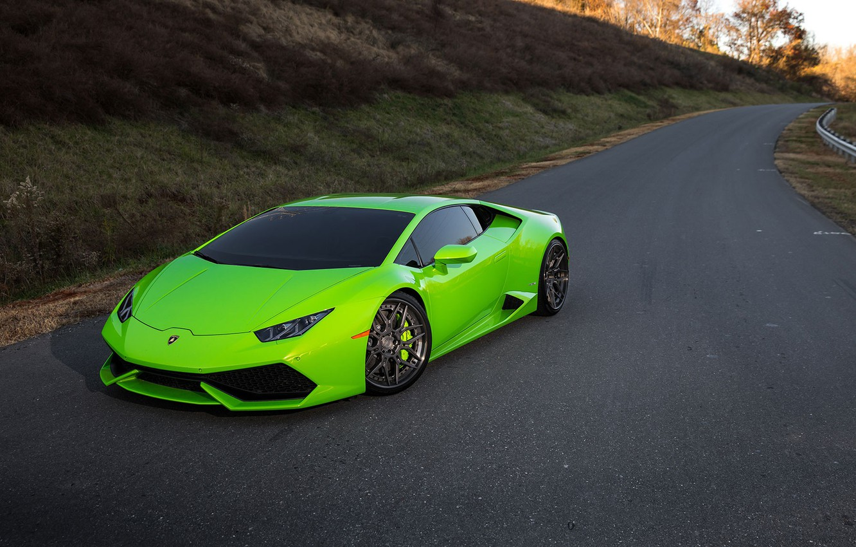 Photo wallpaper Lamborghini, Series, Track, Huracan, LP610-4, Spec, ADV7