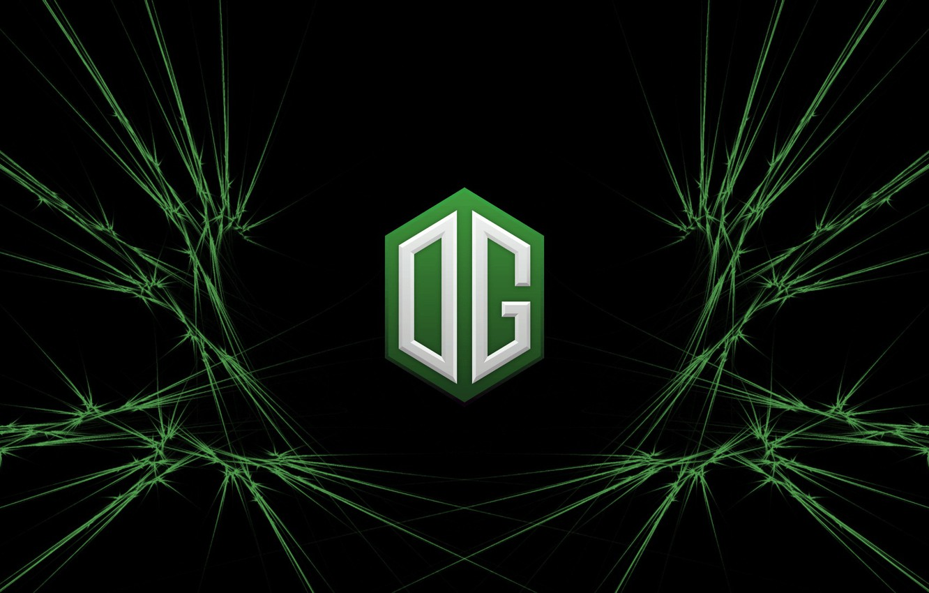 Photo wallpaper Green, Europe, Team, Dota 2, Pro, Esports, OG