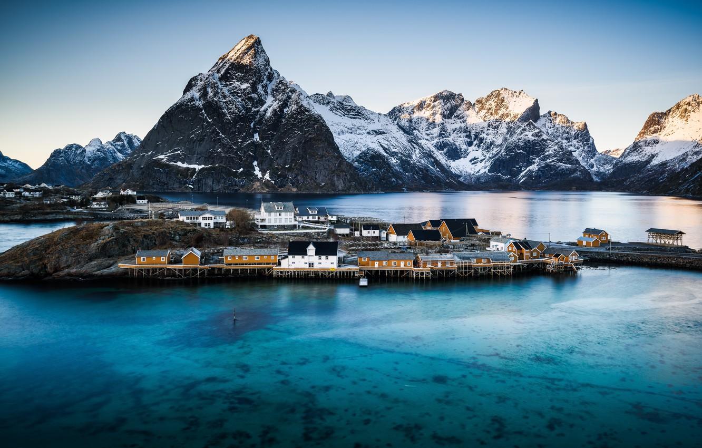 Photo wallpaper Norway, Pure, Nordland