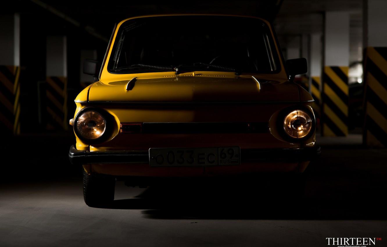 Photo wallpaper auto, shadow, photographer, before, car, auto, photography, photographer, Zaporozhets, ZAZ, ZAZ, Thirteen, Yalta, Eliette