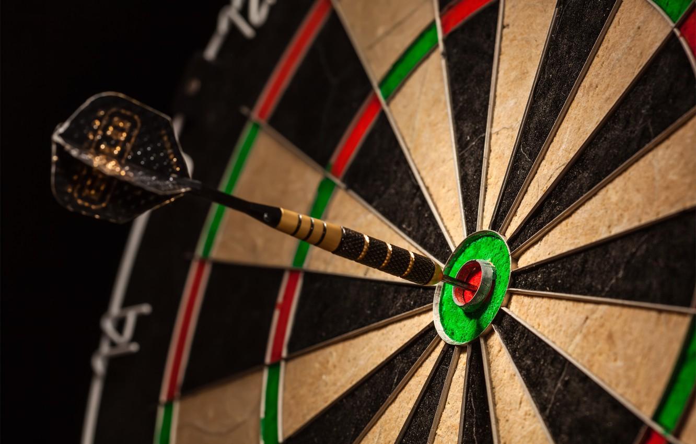 Photo wallpaper Darts, target, dart, sector, darts