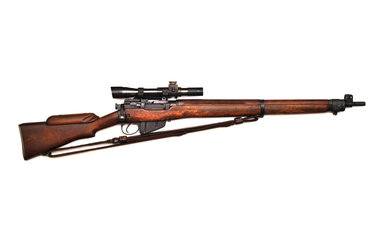 Photo wallpaper rifle, Lee-Enfield, No4T