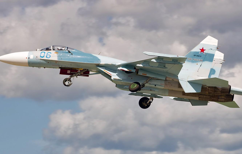 Photo wallpaper Sukhoi, Defense, Su-27P, Single-seat fighter-interceptor