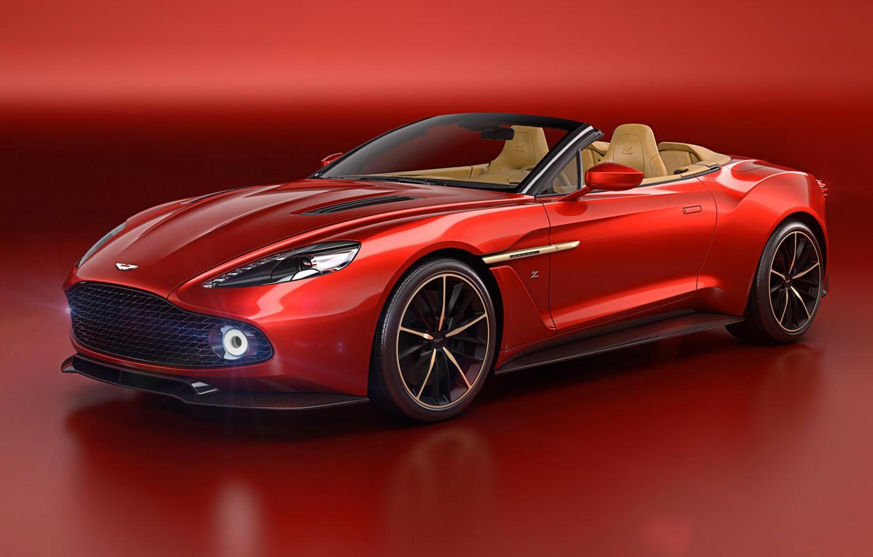 Photo wallpaper Aston Martin, coupe, sports car, Vanquish