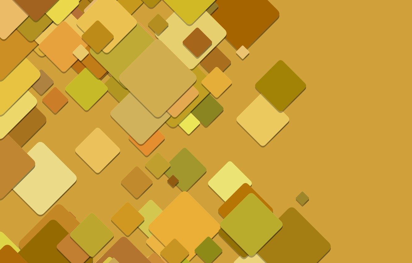Photo wallpaper squares, abstract, background, pattern, geometry