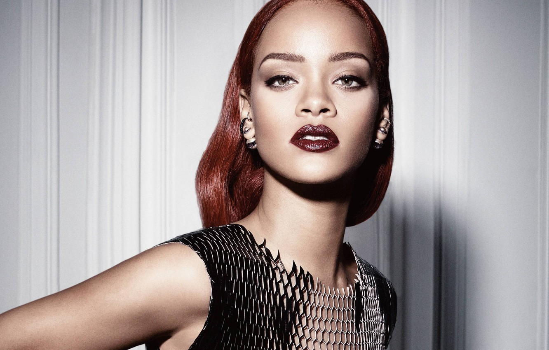 Photo wallpaper portrait, singer, Rihanna