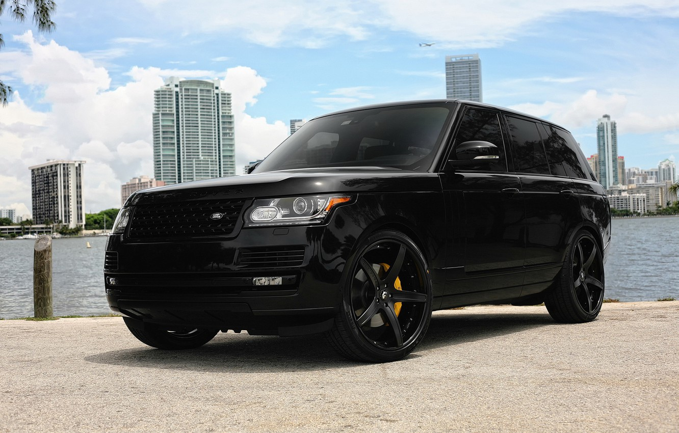 Photo wallpaper wheels, Range Rover, Supercharged, Forgiato, HSE