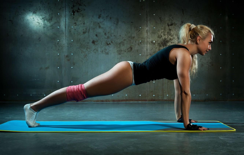 Photo wallpaper workout, fitness, exercises, pilates