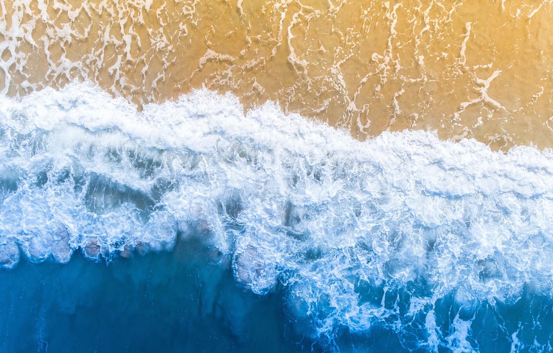 Photo wallpaper sea, wave, beach, summer, waves, summer, beach, sea