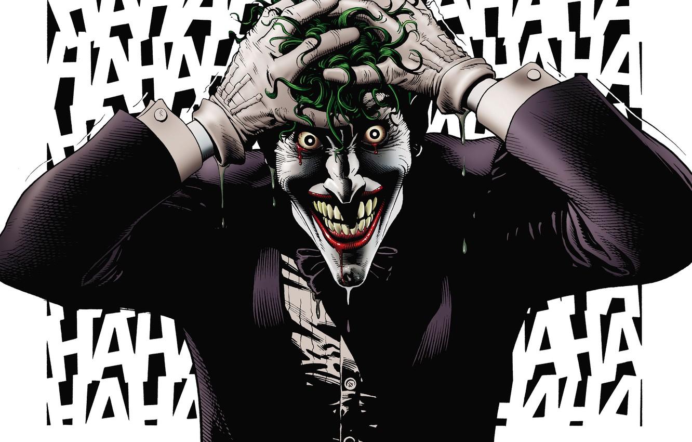 Wallpaper Laughter Joker Batman Comic Joker Dc Comics Madness The Killing Joke Crazy Alan Moore Killing Joke Bad Day The Birth Of A Villain Images For Desktop Section фантастика Download
