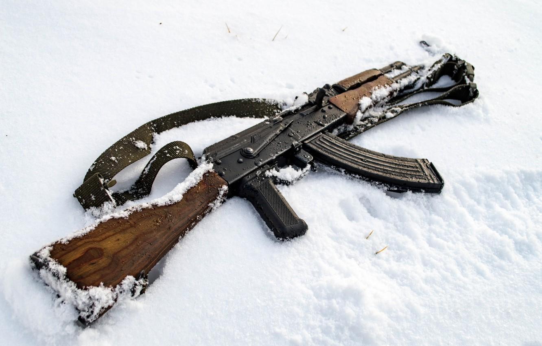 Photo wallpaper weapons, machine, WASR