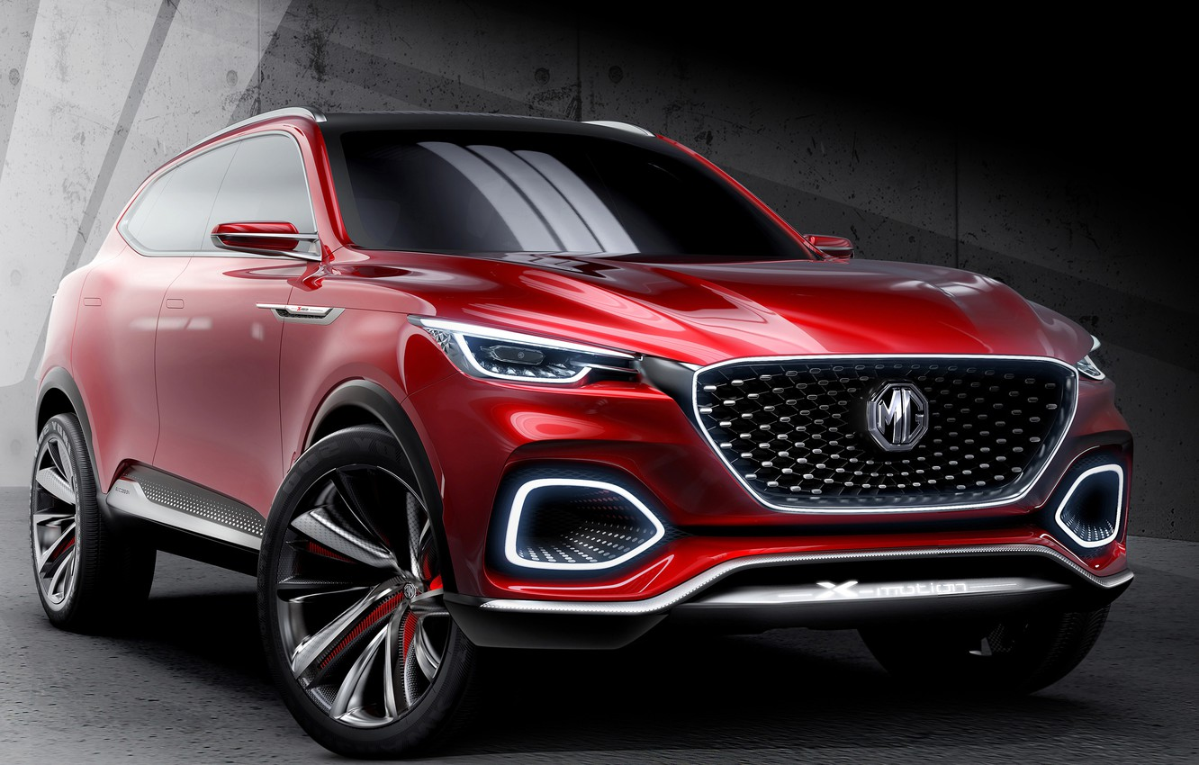 Photo wallpaper Concept, front view, 2018, crossover, SUV, MG X-Motion