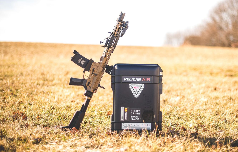 Photo wallpaper SBR, AR15, assault rifle