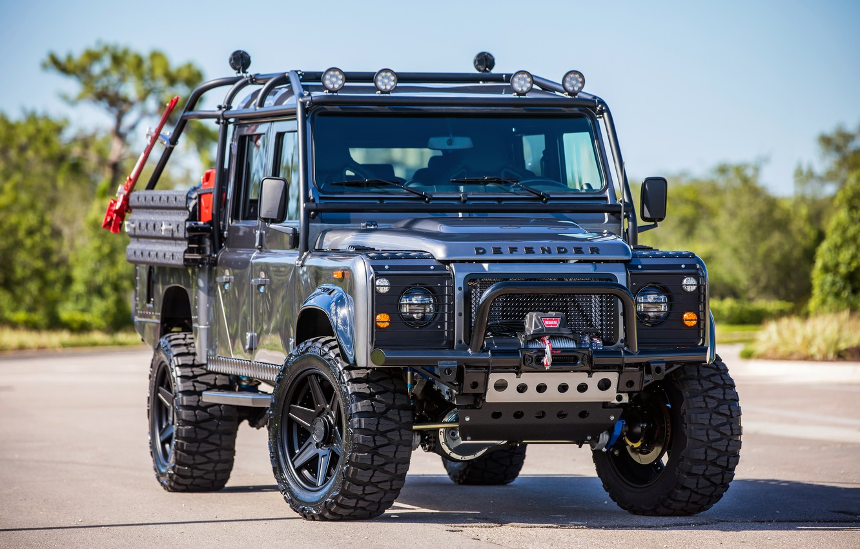 Photo wallpaper Land Rover, Defender, defender, land Rover