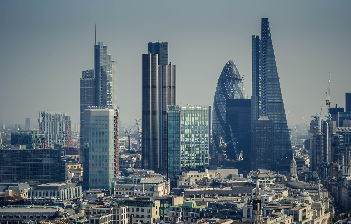 Photo wallpaper city, the city, street, view, building, England, London, panorama, architecture, london, photography, UK, photo, skyscrapers, …