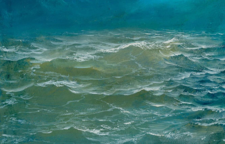 Photo wallpaper wave, water, landscape, Sea, Aibek Begalin, Two thousand two