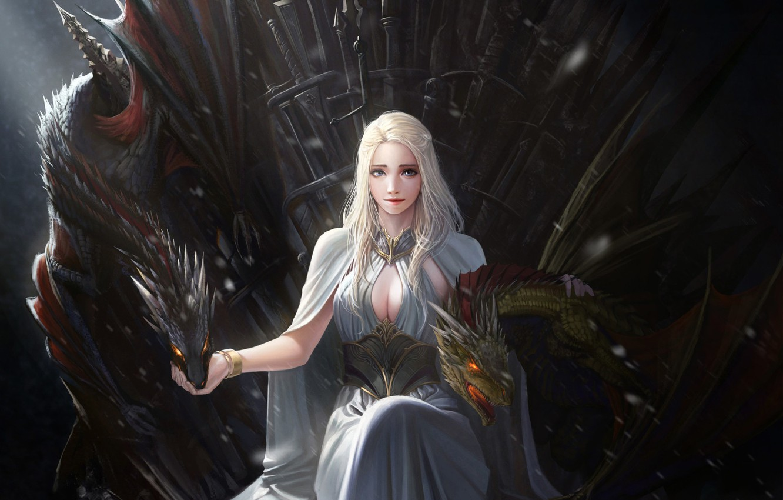 Wallpaper Girl Fantasy Art Films Dragon Game Of Thrones