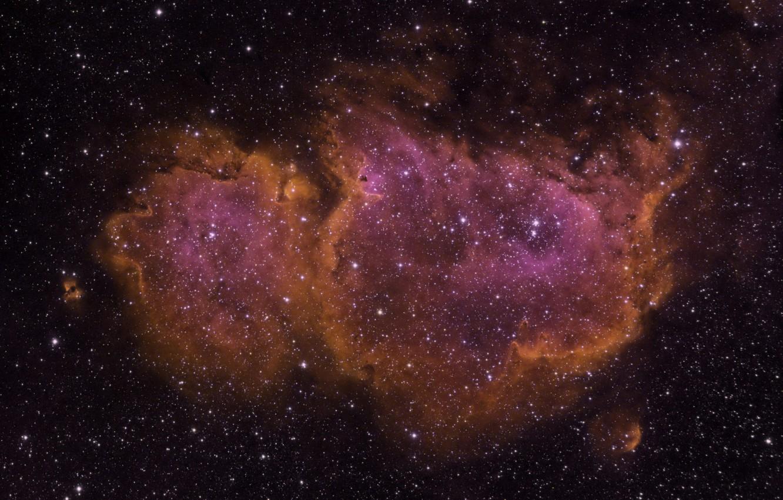 Photo wallpaper space, Soul Nebula, IC1848