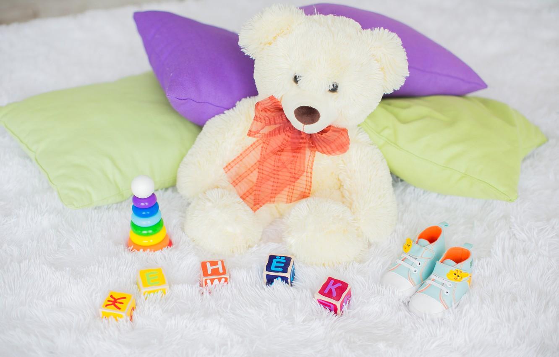Photo wallpaper children, heat, child, boy, bear, pyramid, pregnancy, Teddy bear, name, waiting for a miracle, zhenek, …