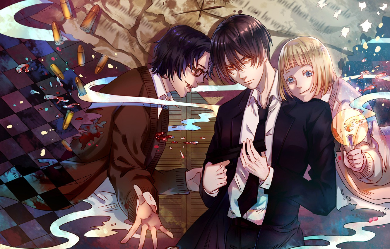 Wallpaper Anime Art 91 Days 91 Days Images For Desktop
