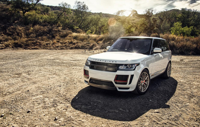 Photo wallpaper Land Rover, Range Rover, Vorsteiner, crossover, range Rover, land Rover