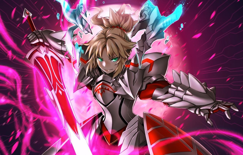 Photo wallpaper anime, art, The saber, Fate/Grand Order, fate/grand order