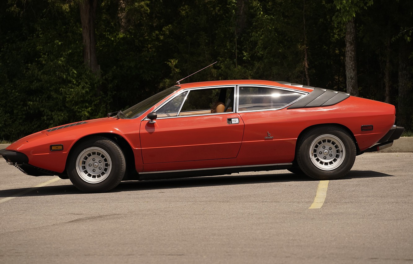 Photo wallpaper Lamborghini, 1976, P300, Classics, Urraco