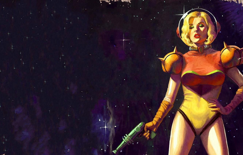 Wallpaper Girl The Game Space Art Samus Aran Metroid