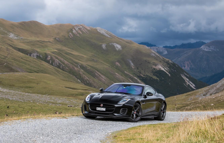 Photo wallpaper Jaguar, Coupe, Sport, 400, F-TYPE