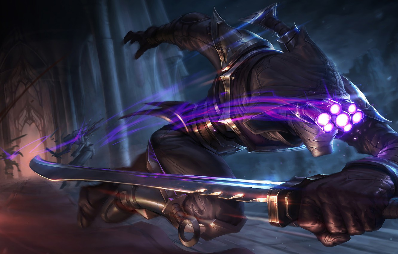 Photo wallpaper The game, Speed, Sword, Weapons, Speed, Game, League of legends, Weapon, LoL, Sword, League of …