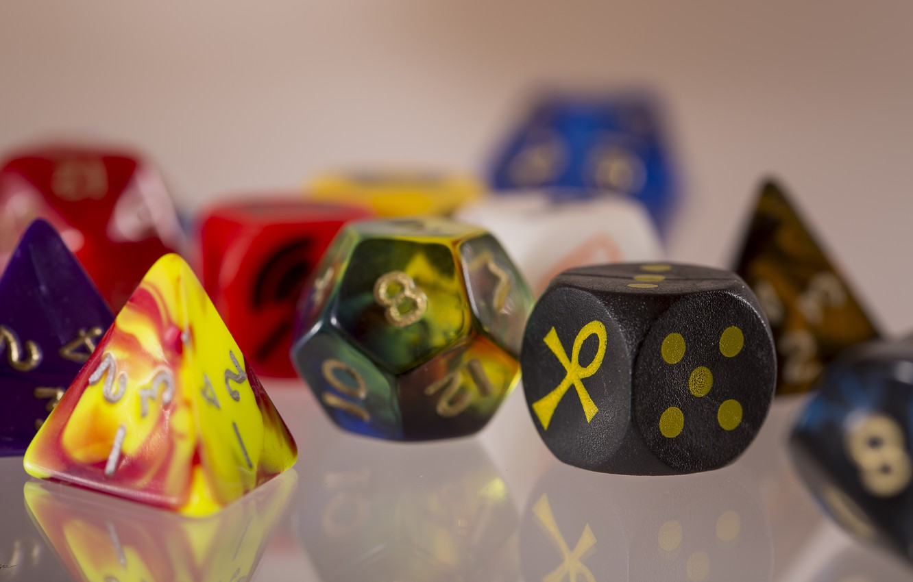 Wallpaper Colors Dice Dungeons And Dragons Role Playing Games