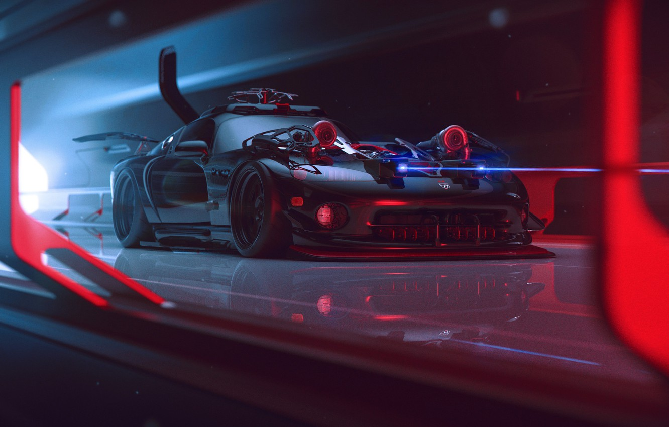 Wallpaper Dodge Viper Tuning Future By Khyzyl Saleem Images For Desktop Section Rendering Download