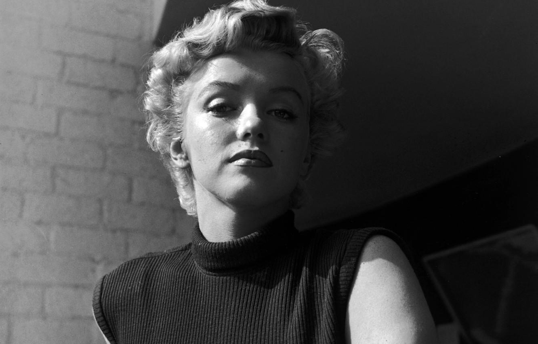Wallpaper Look Face Model Actress Blonde Marilyn Monroe