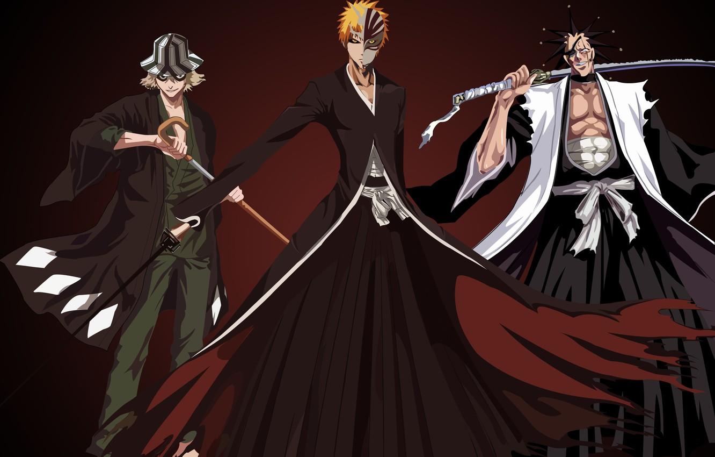 Photo wallpaper game, Bleach, anime, asian, manga, japanese, oriental, asiatic, powerful, strong, sugoi