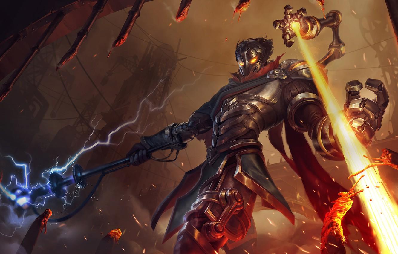 Photo wallpaper the game, art, champion, sixmorevodka studioViktor - League of Legends