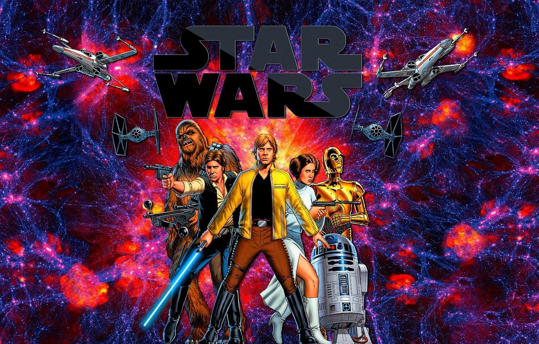Photo wallpaper the universe, star wars, Star wars