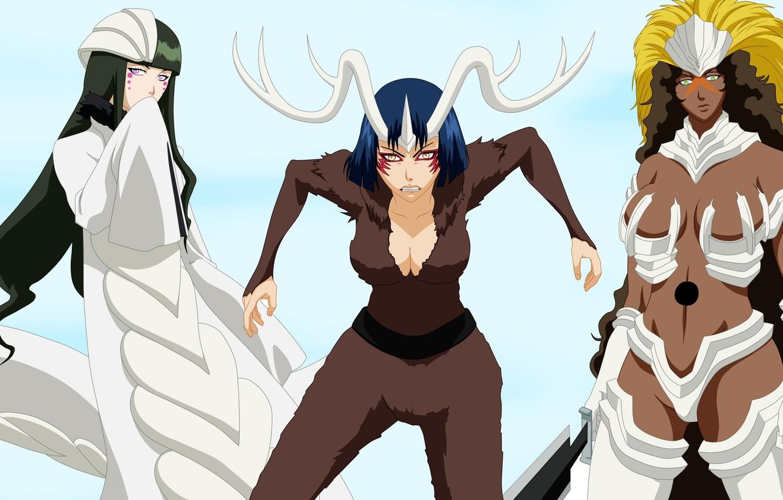 Photo wallpaper Bleach, anime, evil, manga, hollow, japonese, by alexpetrow, apachi, Milaroza, Sunsun