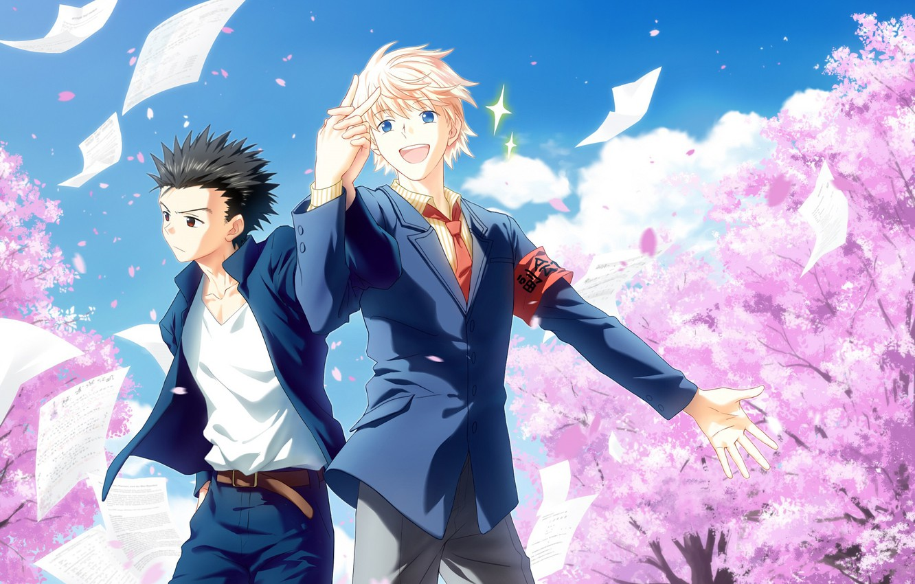 Wallpaper Spring Anime Art Guys Students Hunter X Hunter