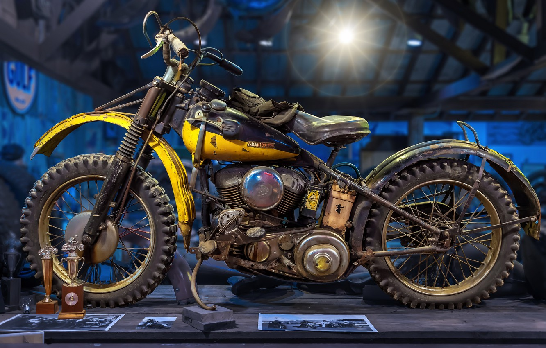 Photo wallpaper background, motorcycle, Harley-Davidson