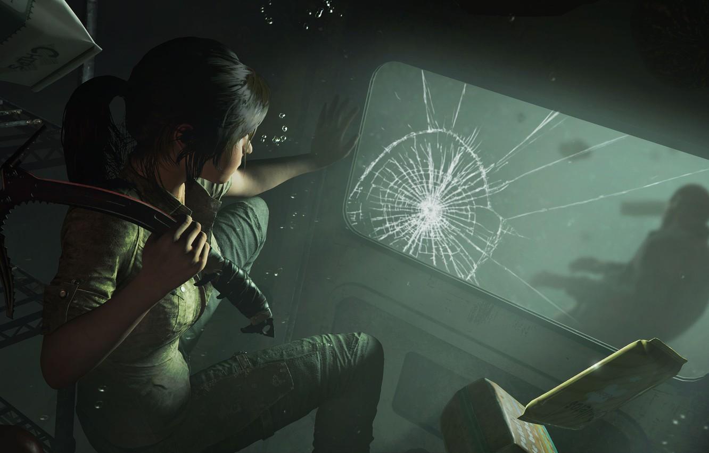 Photo wallpaper hair, Tomb Raider, Lara Croft, Shadow of the Tomb Raider